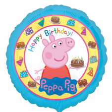 Peppa Pig Happy Birthday Foil Helium Balloon